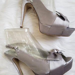 "Women shoes/Limelight/Silver Size 10/5"" Heels"